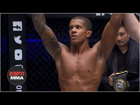 Adriano Moraes reclaims gold at One: Hero's Ascent   Highlights   ESPN MMA