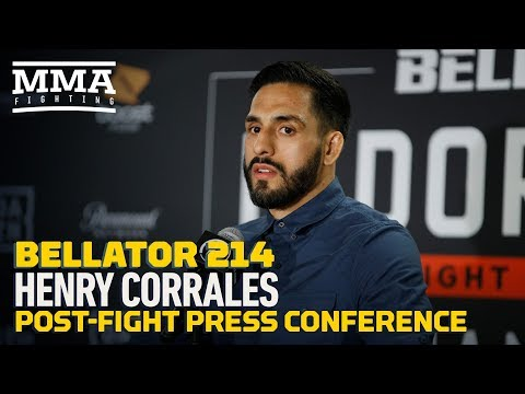 Bellator 214: Henry Corrales Post-Fight Press Conference – MMA Fighting