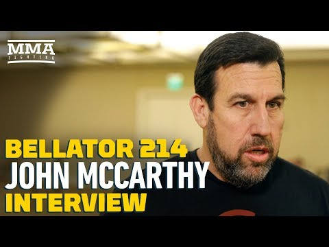 John McCarthy Breaks Down Bellator 214, Cejudo vs. Dillashaw Stoppage at UFC Brooklyn