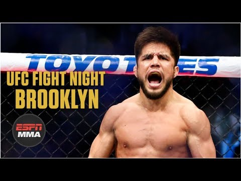 Henry Cejudo's first-round win highlights main card | UFC Fight Night: Brooklyn Highlights