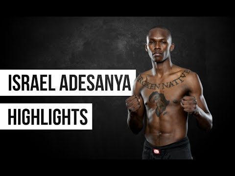 Israel Adesanya highlights 2018||The Last Stylebender