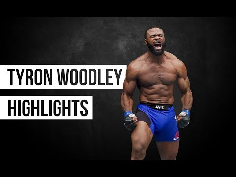 Tyron Woodley Highlights 2018||The Chosen one