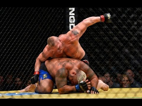 Brock Lesnar TOP 5 Bloodiest Knockouts in UFC & MMA