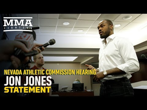 Jon Jones Releases Statement After NAC Hearing – MMA Fighting