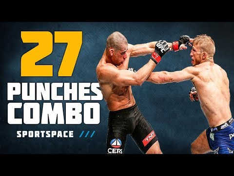 Greatest Knockout Combos in MMA