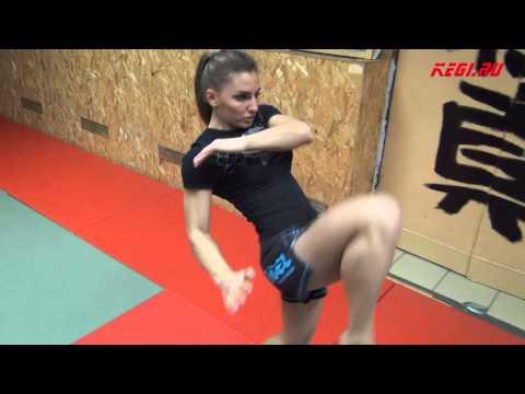 "MMA-KEGI: Alexandra ""Stitch"" Albu workout (made by kendziro)"