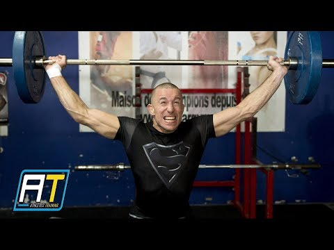 Georges St-Pierre Unique MMA & Strength Workout | Athletes Training