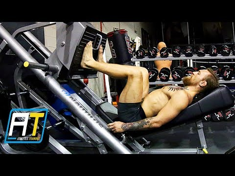 Conor McGregor Strength Workout & MMA Training | Athletes Training