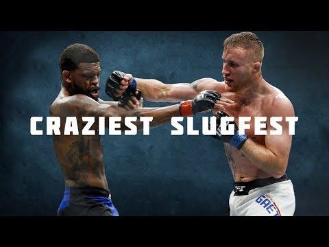 Craziest Slugfest in MMA History