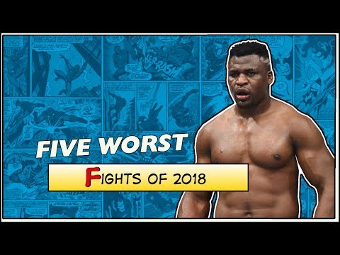 Five Worst MMA Fights of 2018