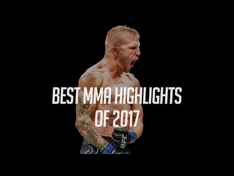 BEST MMA MOMENTS OF 2017