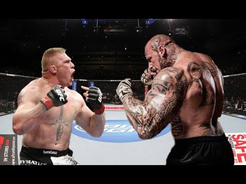 Brock Lesnar vs Martyn Ford Gangster Style in MMA