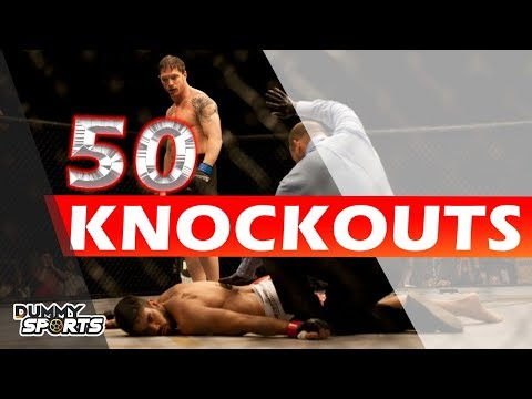 50 Best UFC Knockouts Of All Time