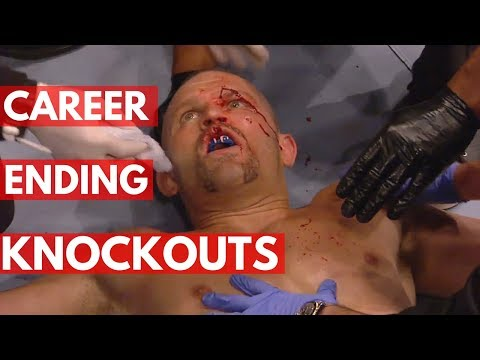Career Ending Knockouts in UFC