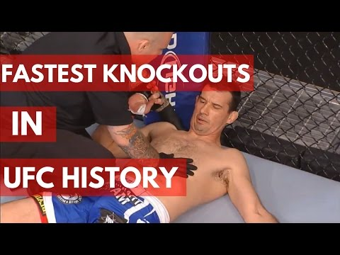 Fastest Knockouts in UFC History – TOP 10