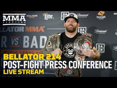Bellator 214 Post Fight Press Conference Live Stream- MMA Fighting