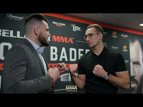 Rory MacDonald vs. Jon Fitch Bellator Staredown – MMA Fighting