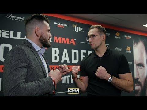 Rory MacDonald vs. Jon Fitch Bellator Staredown – MMA Fighting