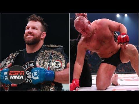 Ryan Bader KOs Fedor Emilianenko in 35 seconds | Bellator 214 Highlights | ESPN MMA