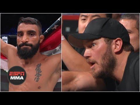 Chris Pratt celebrates Adel Altamimi's win | Bellator 214 Highlights | ESPN MMA