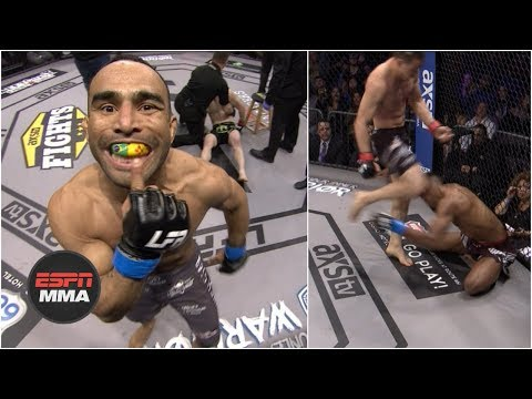 LFA 58 filled with big KOs, controversial main event | Highlights | ESPN MMA