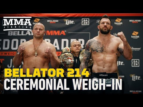 Bellator 214 Ceremonial Weigh-In Highlights – MMA Fighting