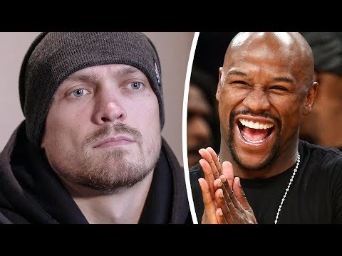 USYK: Floyd Mayweather Fighting MMA Should Be BANNED!
