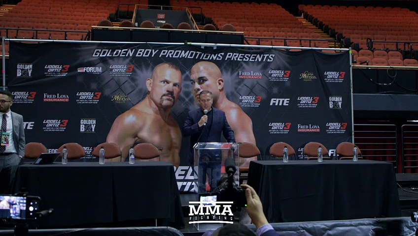 Chuck Liddell vs Tito Ortiz 3 Post Fight Press Conference Live Stream – MMA Fighting