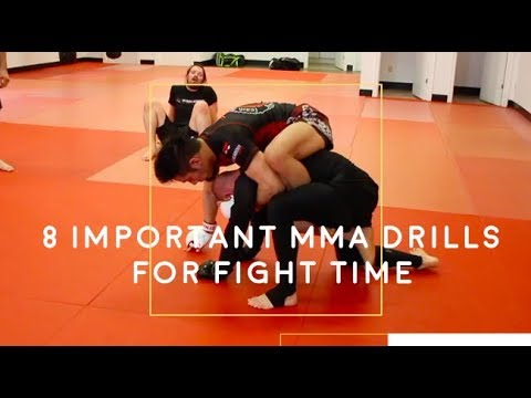 8 of the Best MMA Drills
