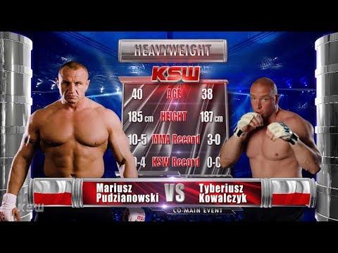 KSW Free Fight: Mariusz Pudzianowski vs. Tyberiusz Kowalczyk
