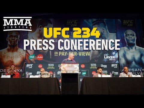 UFC 234 Pre-Fight Press Conference – MMA Fighting