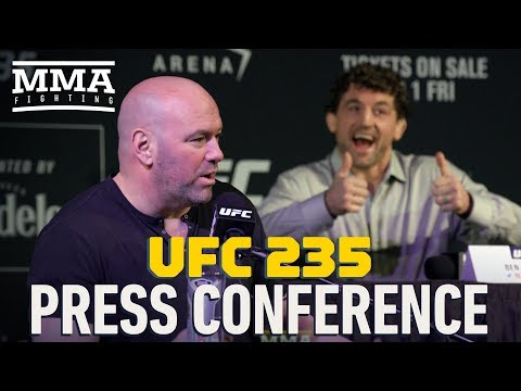 UFC 235 Press Conference – MMA Fighting