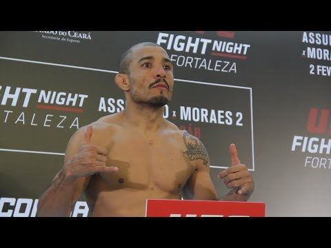 UFC Fortaleza Official Weigh-In Highlights – MMA Fighting