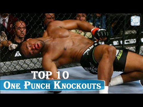 ♛TOP 10♛ One Punch Knockouts in UFC ♛
