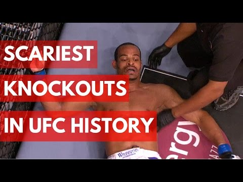 The Scariest Knockouts In UFC History – TOP 5