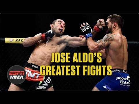 Jose Aldo's best WEC and UFC fights | Highlights | ESPN MMA