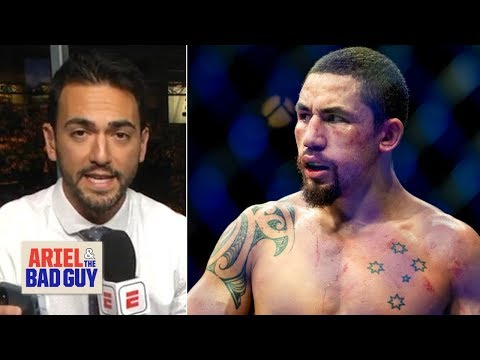 Robert Whittaker withdraws from UFC 234 due to hernia | Ariel & The Bad Guy
