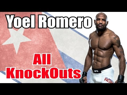 Yoel Romero KOs All KnockOuts Highlights Strikeforce UFC MMA