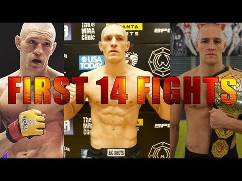 Conor McGregor – First 14 MMA Fights in order FULL fight