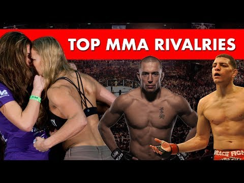 The Top 10 Rivalries in MMA