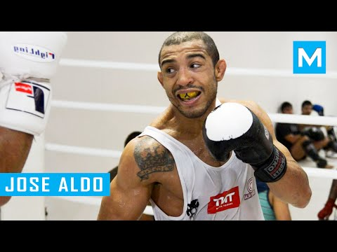 Jose Aldo MMA Training Highlights | Muscle Madness