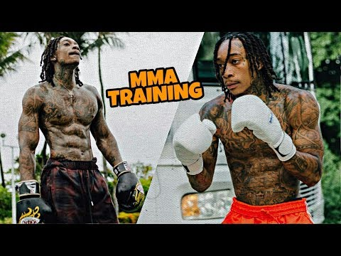 Wiz Khalifa EXPLOSIVE & STRENGTH Workout & MMA Training 2018