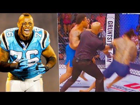 Greg Hardy MMA HIGHLIGHTS (5-0 ALL UFC KO'S)