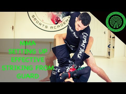 MMA Training – Striking Effectively from within the Guard