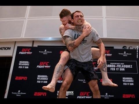 UFC Phoenix: Paul Felder Open Workout Highlights – MMA Fighting