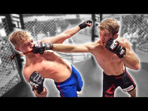 I FOUGHT A PROFESSIONAL MMA FIGHTER **not clickbait**