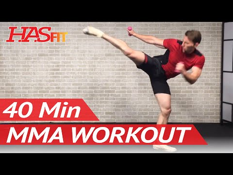 40 Min MMA Workout Routine – MMA Training Exercises UFC Workout BJJ MMA Workouts Mixed Martial Arts