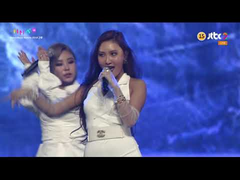 "[1080i] 181201 MAMAMOO perform ""Wind Flower"", ""Starry Night + Egotistic"" Live @ 2018 MMA"