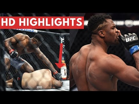 Francis Ngannou BEFORE and AFTER Caín Velásquez FIGHT / MMA Live