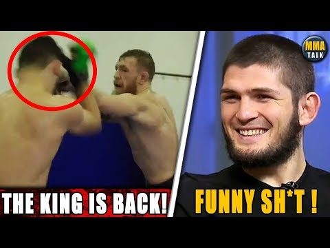 Conor McGregor Posts Impressive Sparring Footage, MMA community react to MVP vs. Paul Daley